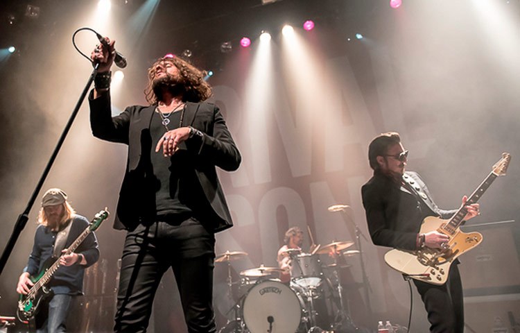 Rival Sons, a nova cara do Hard Rock