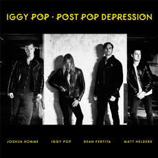 Capa de Post Pop Depression, novo álbum de Iggy Pop