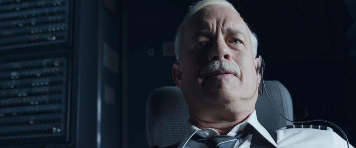 Tom Hanks em Sully: O Herói do Rio Hudson