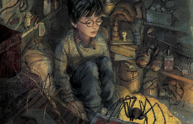 Harry Potter, meu primeiro amigo de tinta