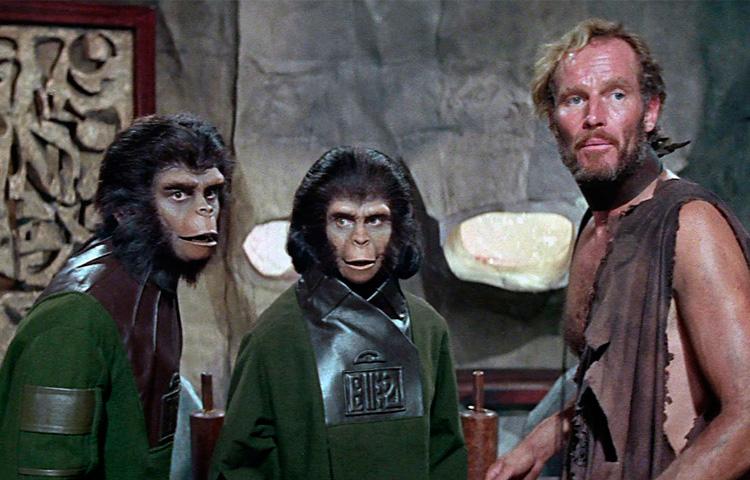 O Planeta dos Macacos (1968) e as camadas de temporalidade