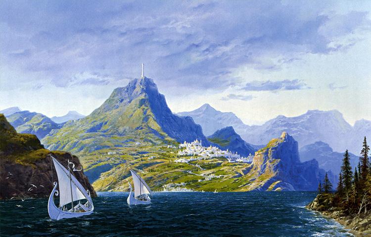 Como Tolkien criou o reino de Númenor