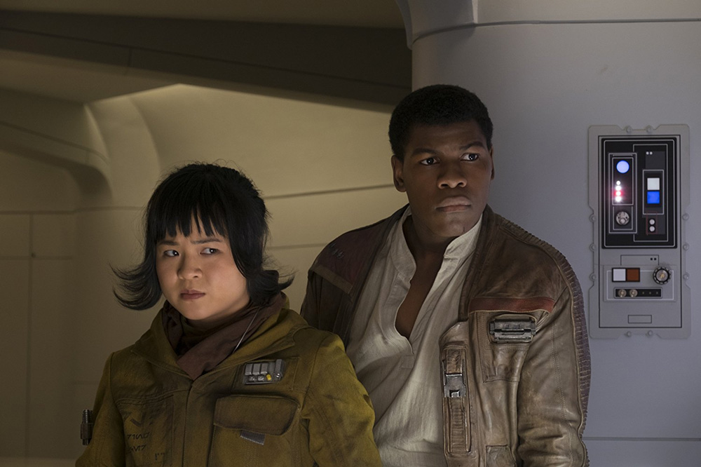 Rose Tico Finn Star Wars Os Últimos Jedi Donald Trump