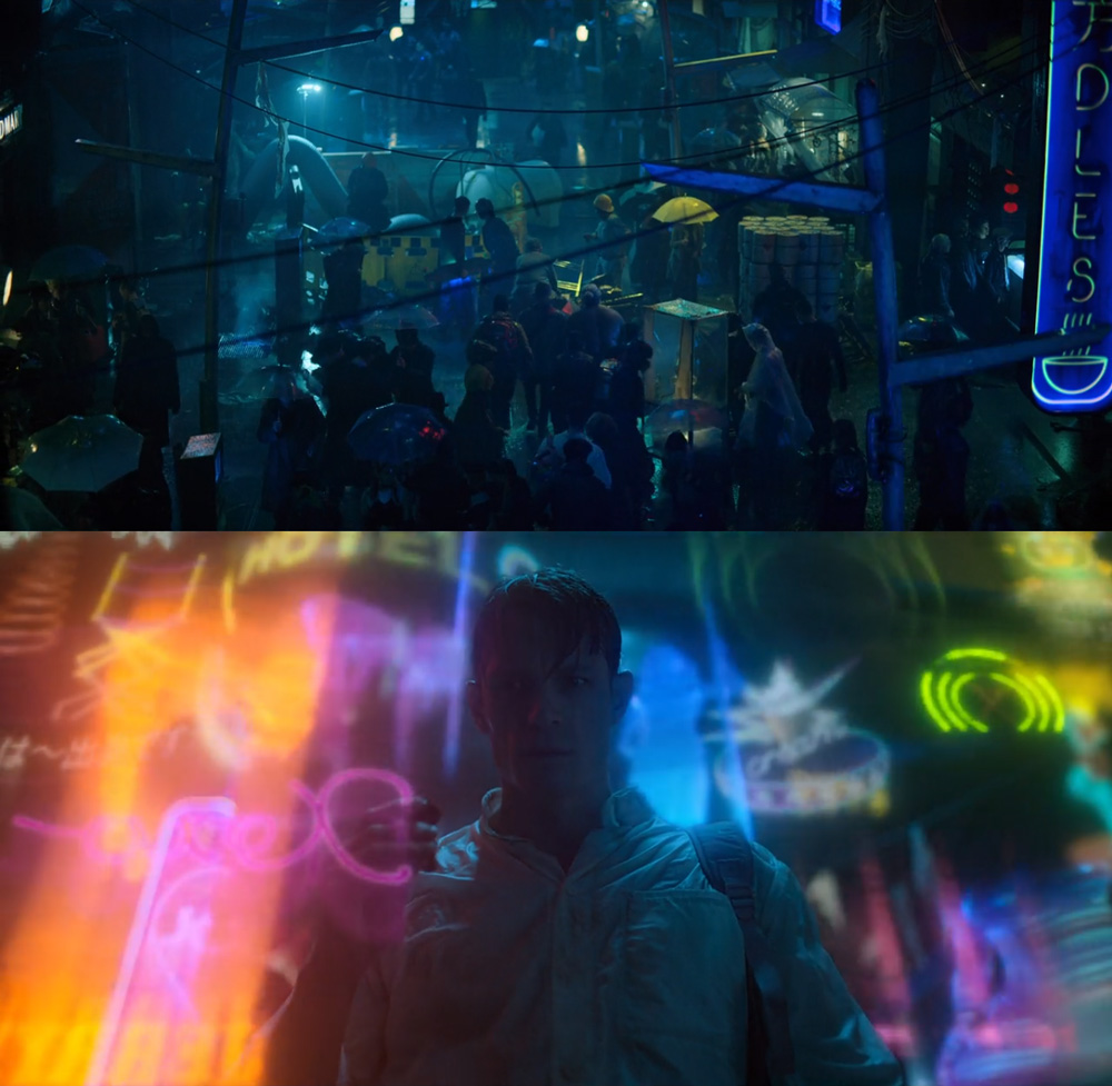 Altered Carbon Fuga do passado Out of the Past Netflix