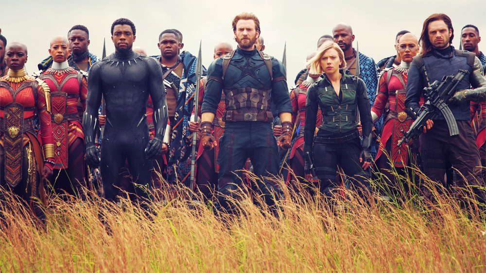 Vingadores Guerra Infinita Wakanda