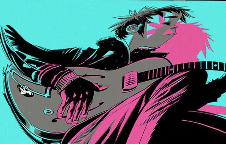 """The Now Now"", de Gorillaz"