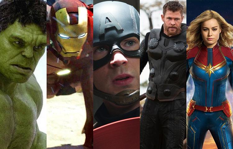 Os melhores momentos da Marvel no cinema