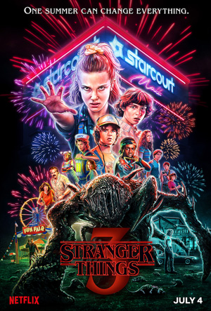 piores séries de 2019 stranger things 3
