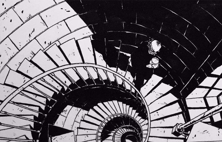 O fatalismo da existência nos quadrinhos de Christophe Chabouté